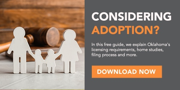 How To Adopt A Child In Oklahoma